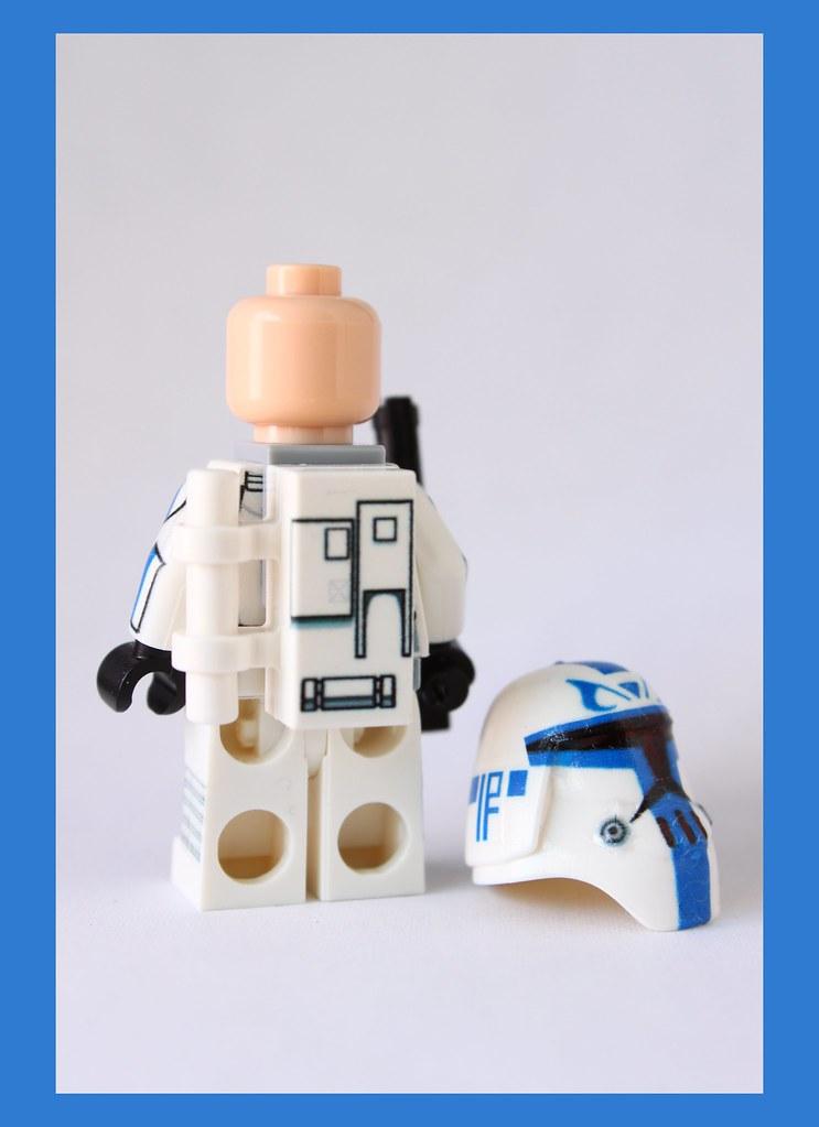 Custom Lego Clone Wars Cold Assault Captain Rex $29.99 (ba… | Flickr