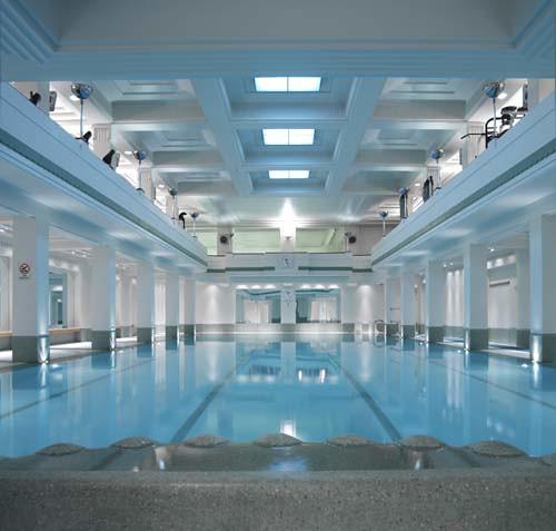 ... Art Deco Swimming Pool   By The Lansdowne Club