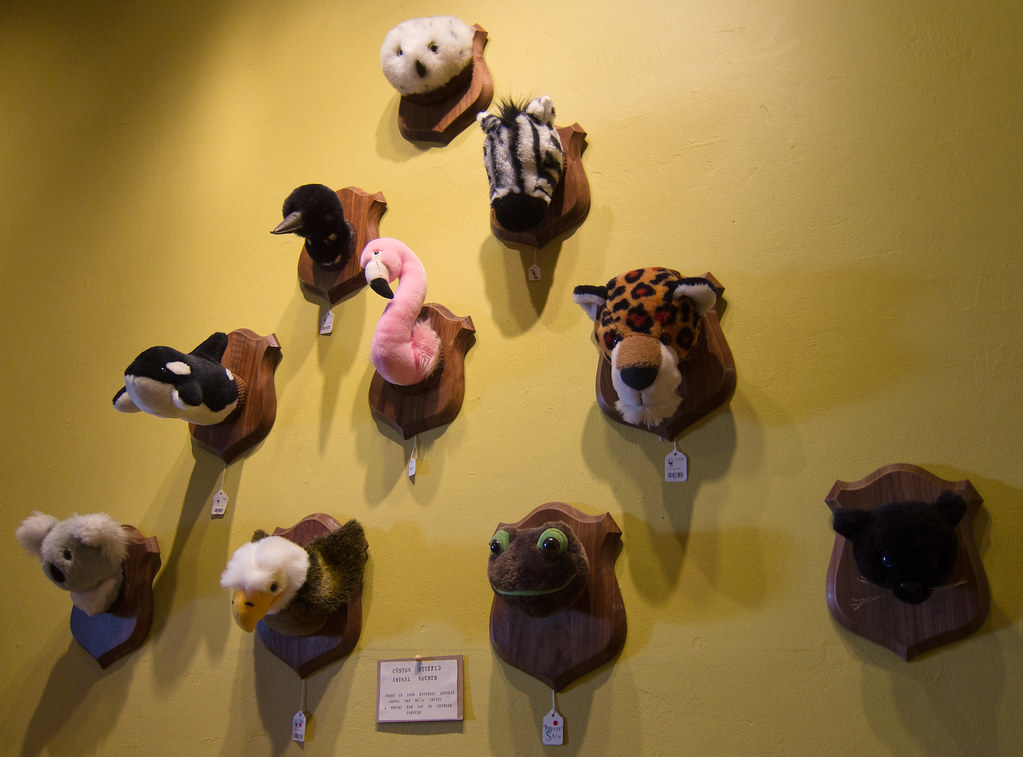 Stuffed Animal Heads At Paxton Gate Photo By Scott Beale Flickr