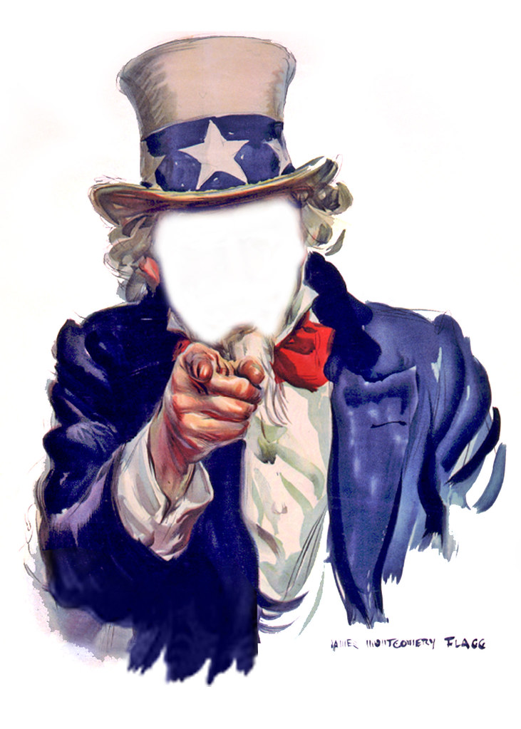 uncle sam i want you poster faceless see the complete u flickr