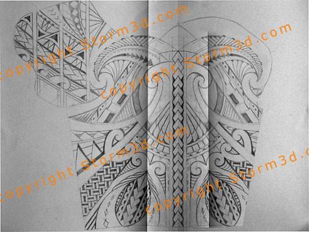 chest shoulder tattoo design tribal maori style samoan ima flickr. Black Bedroom Furniture Sets. Home Design Ideas