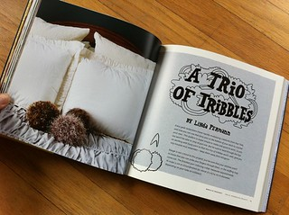 Trio of Tribbles by Linda Permann | by susanstars