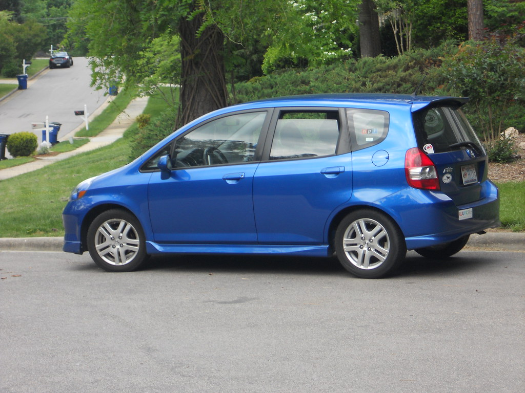... My 2008 Honda Fit Sport | By Cbb4104