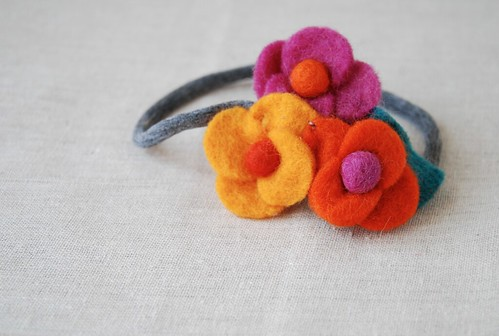 Felt Flower Headband | by {every}nothing wonderful
