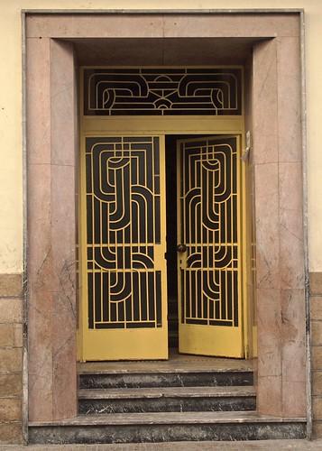 Wrought Iron Door Casablanca Sandra Cohen Rose And