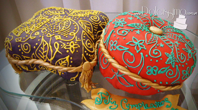 Arabian Pillows Cake Cojines Arabes Anitadolcissimo Flickr - Cojines-arabes