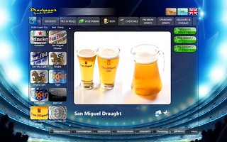 issimenu beer selection | by iSSimple