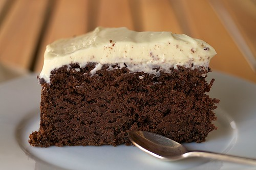 Chocolate Guinness Cake Hummingbird
