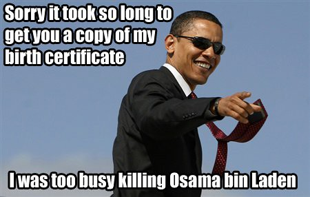 I was too busy killing Osama bin Laden | by privateareansfw