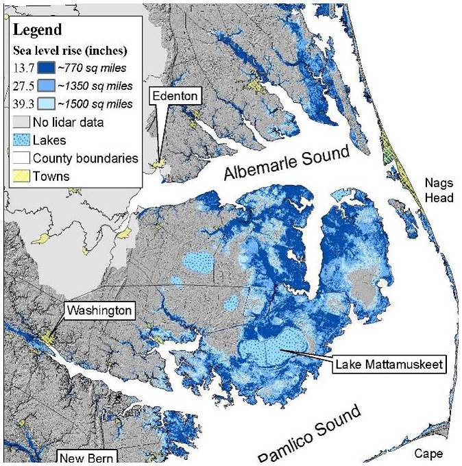 Sea Level Chart United States: Sea level projections at Alligator River National Wildlifeu2026 | Flickr,Chart