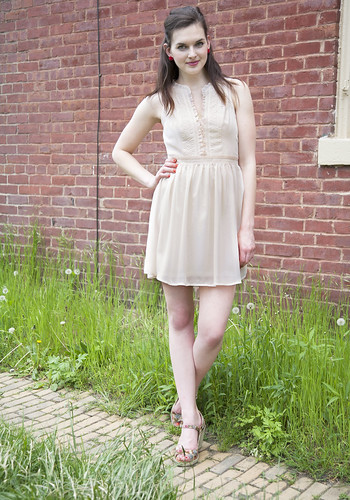 Amy - Summer Peach Dress | by ModStylists