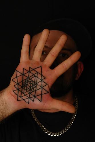 geometric palm tattoo koru tattoo flickr. Black Bedroom Furniture Sets. Home Design Ideas