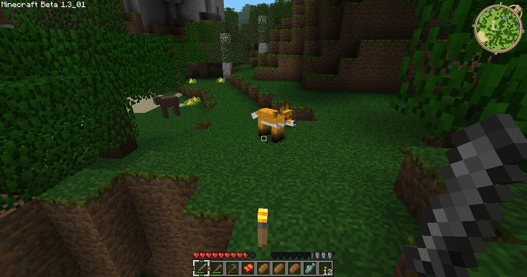 minecraft fox picture for my blog at www benneyboy444 wo flickr