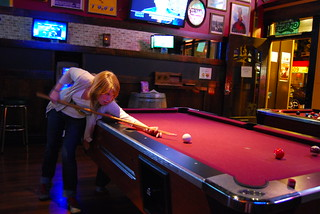 Linzi is a pool shark | by christopher.berry
