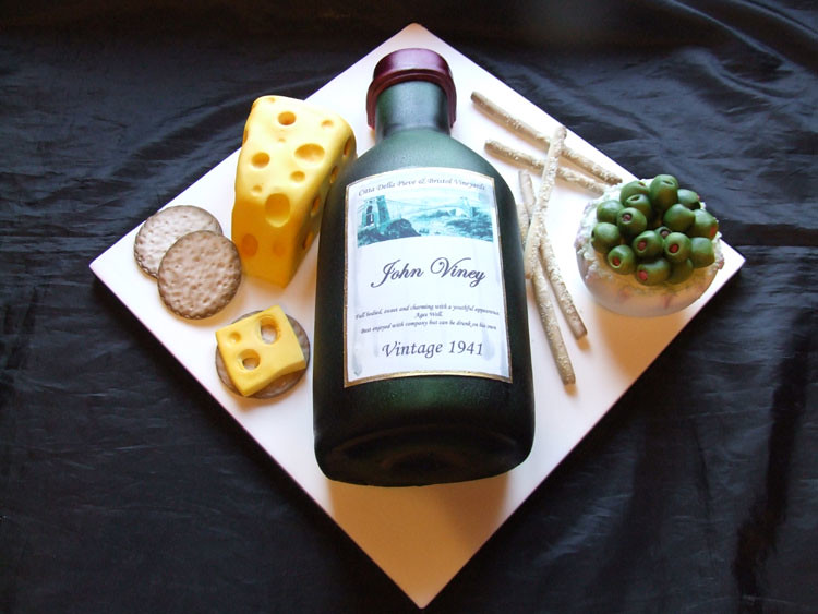Cheese and Wine Cake Wine Cheese Olives and Breadsticks Flickr