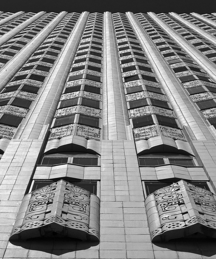 Neo Mayan Art Deco Medical Building San Francisco