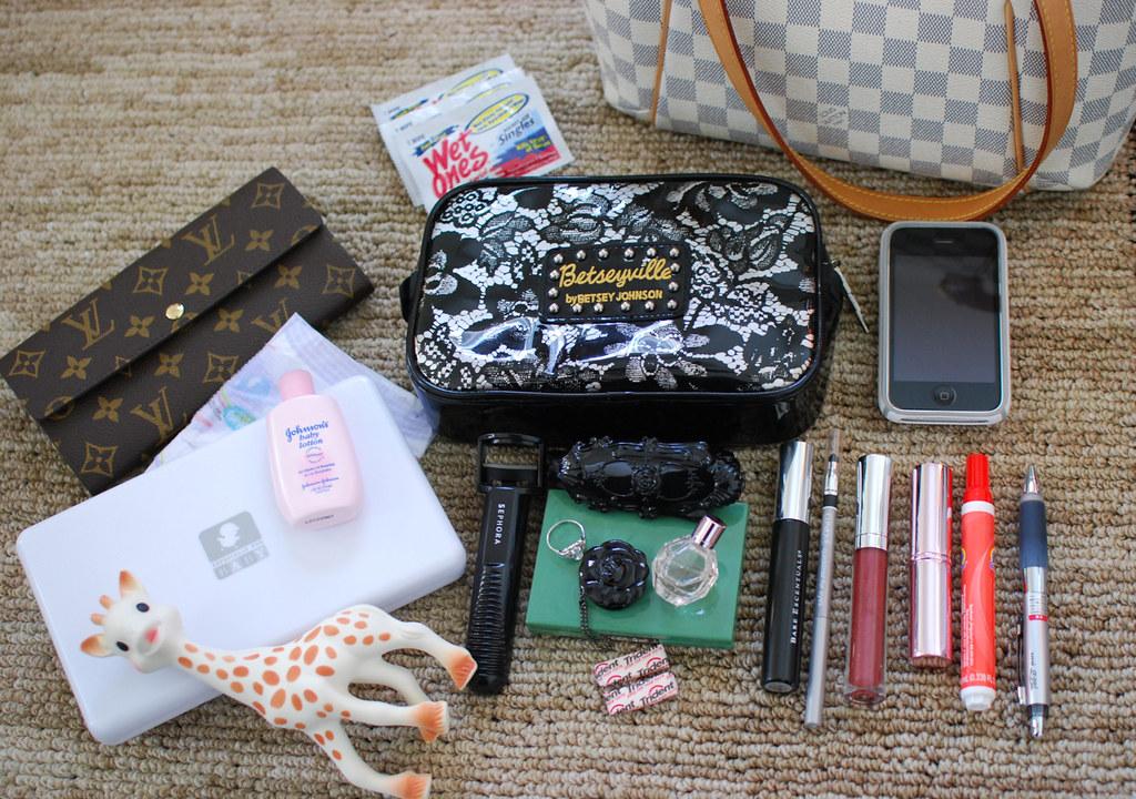 Weirdest thing in your handbag
