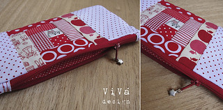 Zippered Pouch | by ViVá