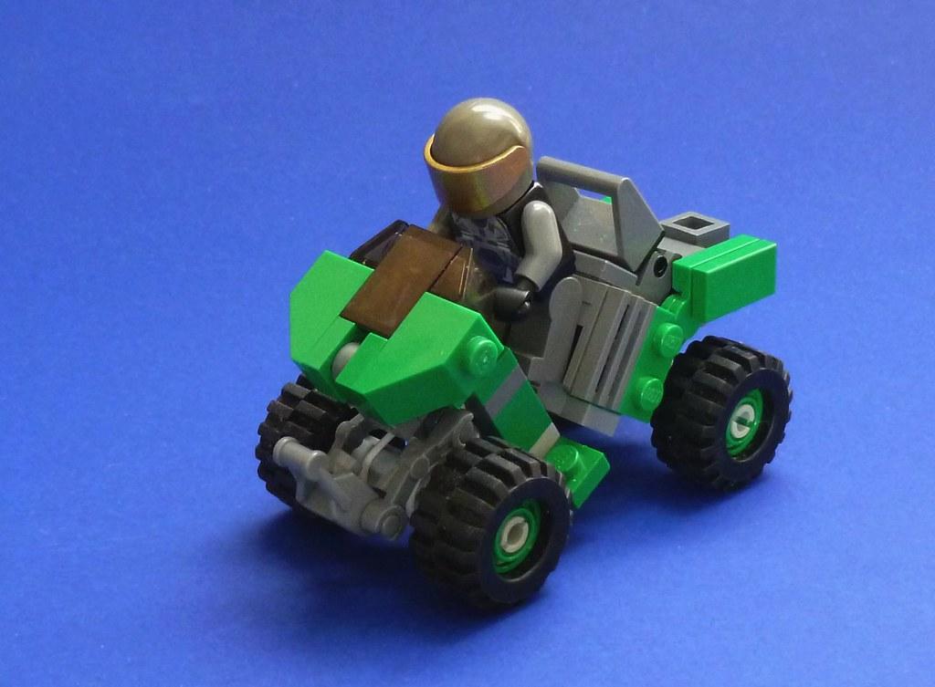 Lego Halo Unsc Mongoose Reference Haloawikimon Flickr