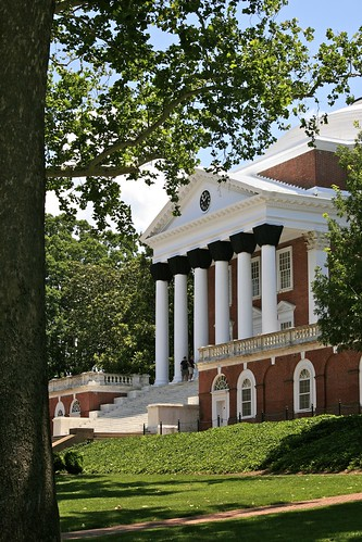 Front of The Rotunda, University of Virginia | by Alex E. Proimos