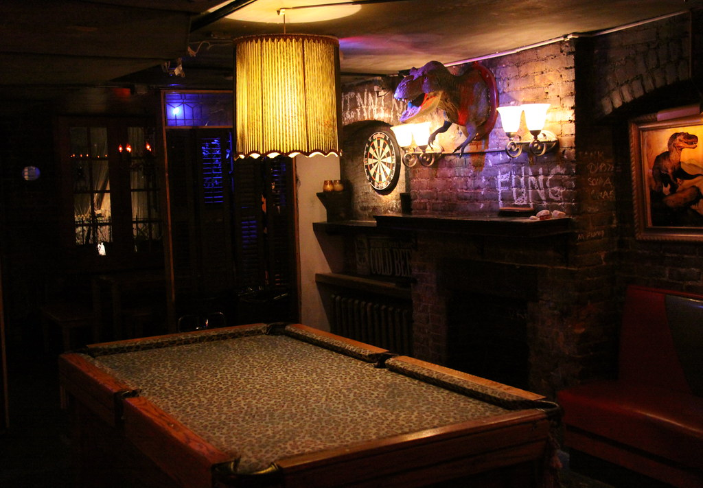Leopard Skin Pool Table TRex Wall Mount Bar Chin Flickr - Pool table nyc