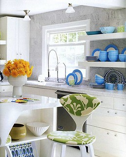Jonathan Adler Kitchen | by Jessie {Creating Happy}