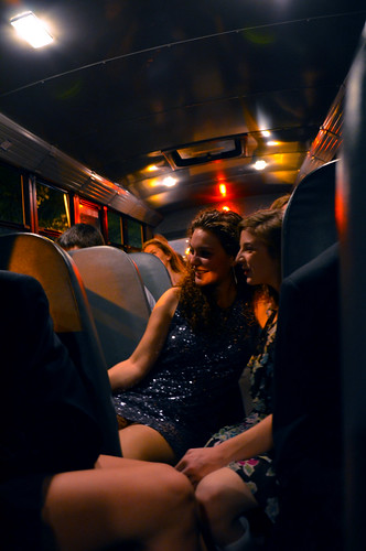 on the bus to my sorority formal | by Simply 希爾維亞