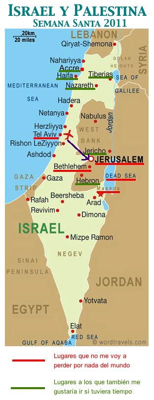 Mapa Israel Y Palestina Geoblai Flickr