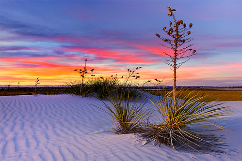 White Sands NM Sunset | by kevin mcneal
