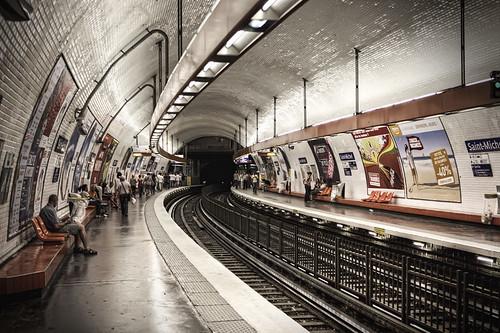 metro saint michel giuseppe moscato flickr. Black Bedroom Furniture Sets. Home Design Ideas