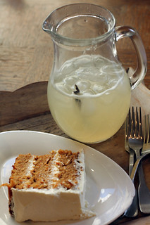 sugarplum carrot cake + lemonade | by David Lebovitz