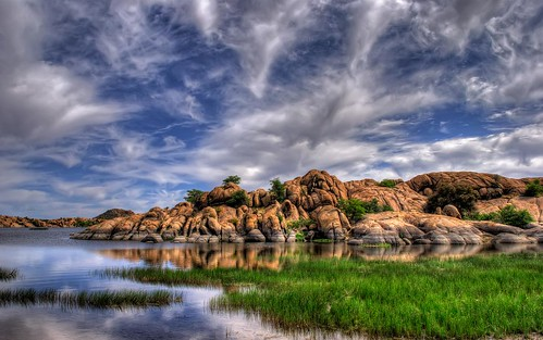 Beautiful Sky and Boulders at Willow Lake | by Michael-Wilson
