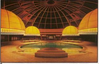 Pool Area Chicago O 39 Hare Hyatt Regency By John Portman Flickr