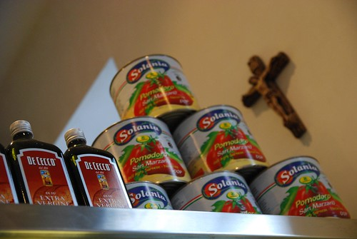 San Marzano Tinned Tomatoes, De Cecco Extra Virgin Olive Oil - D.O.C. Pizza, Carlton | by avlxyz