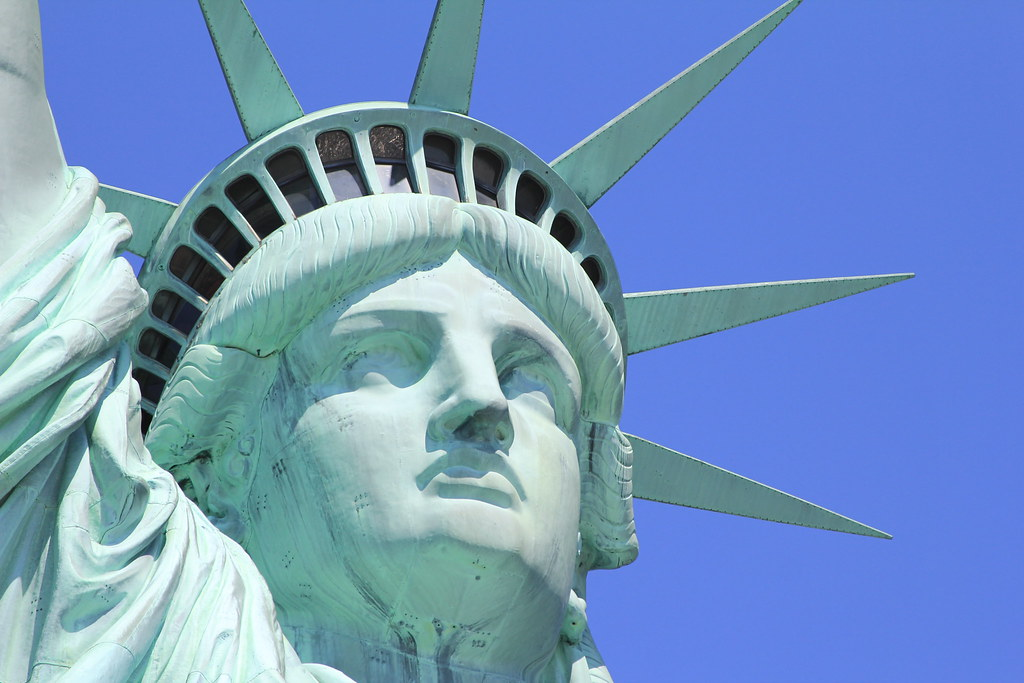 The Face of Lady Liberty | What a beautiful face. | Flickr