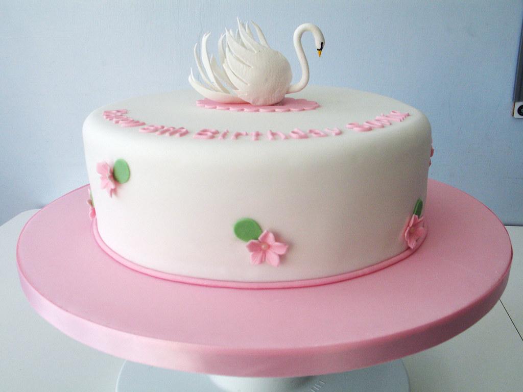 Swan Cake Alex Lankester Flickr