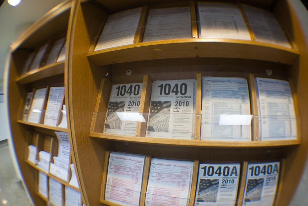 Irs 1040 Forms Post Office April 14 20113 Sheepsheadb Flickr