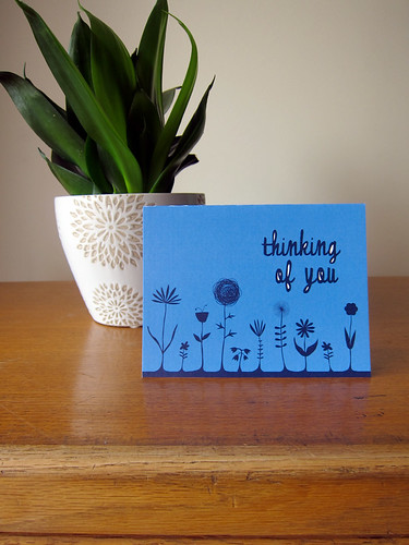 Thinking of you card | by you can count on me