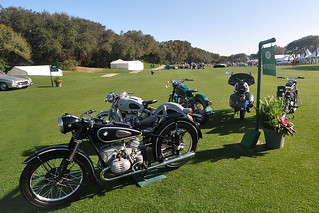 Motorcycle Display at Amelia Island 2011 | by gswetsky