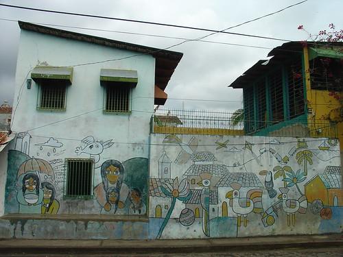 Dsc01181 graffiti mural granada nicaragua sc944 flickr for Mural nicaraguense