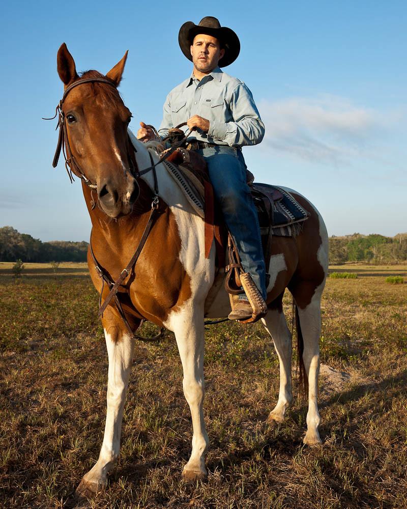 Cowboy On A Horse Erik Pronske Md Flickr