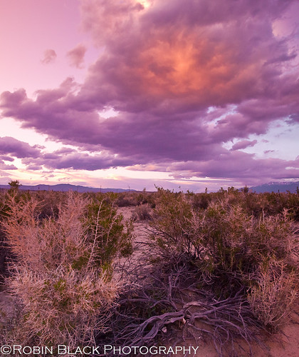 Owens Valley Sunset | by Robin Black Photography