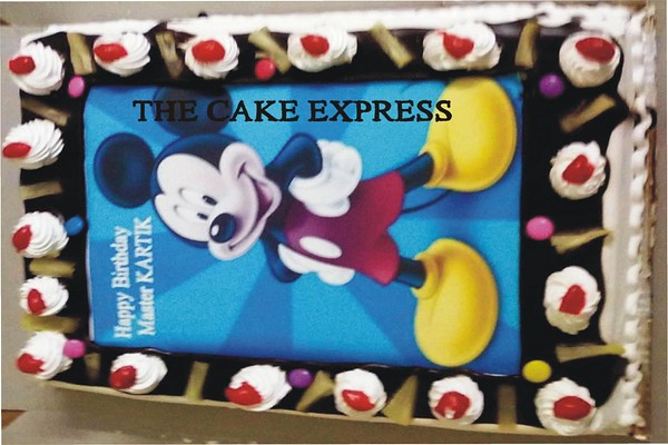 Micky Cake Batman Cake Delhi Cartoon Cake Noida Gurgaon De Flickr