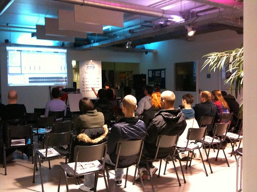 Ableton-Live Workshop @ SAE Institute Rotterdam | by mattjaems