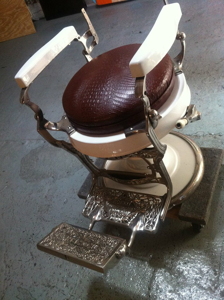 ... 1920 Koken Barber Chair | by Golivefoto : koken barber chairs - Cheerinfomania.Com