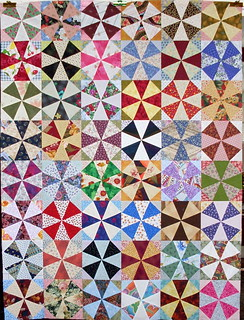 T-Scrappy Kaleidoscope | by Linda Rotz Miller Quilts & Quilt Tops