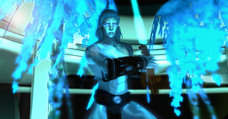 FGI16 Sam Puren,  - Jedi Master in Blue