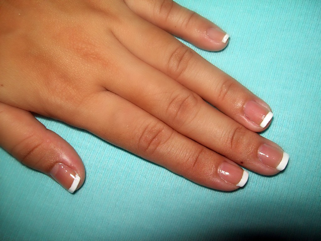 French tip made easy with Sally Hansen French Manicure Pen… | Flickr
