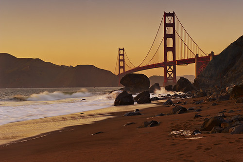 Golden Gate Bridge Sunset - Marshall Beach | by Waymond_Lee