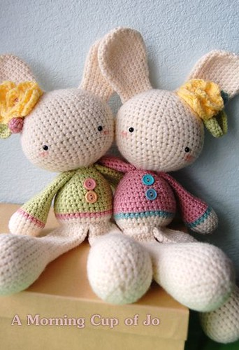 Easter bunny sisters :) | by a morning cup of jo